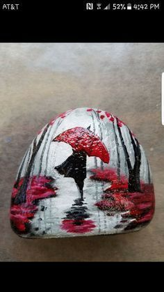 rock painting patterns | how to make painted rocks | painted rocks craft | Painted rock ideas #artpainting #thoughtfulhomemadegift