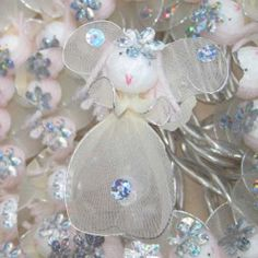 Fairy Princess - 20 Lamps Pearl & Silver