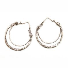 Crescent Hoops Small now featured on Fab.