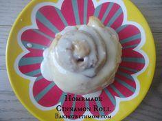 Homemade Cinnamon Rolls-Great for Christmas morning breakfast!