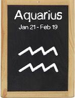 Aquarius Jan 21 - Feb 19 水瓶座のルーラー(支配星)は土星だった。山羊座の土星との違い。