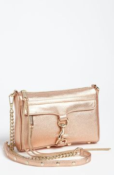 REBECCA MINKOFF l Rose Gold Shoulder Bag | Fashion | Pinterest ...