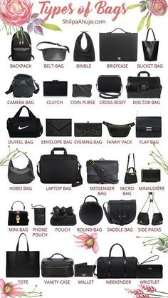 Types of bags a plete to 40 top 10 luxury handbag brands you should 10 diffe types of handbags for women 30 of the best handbag brands every man should. Fashion Terminology, Fashion Terms, Fashion Mode, Types Of Fashion Styles, Fashion Bags, Womens Fashion, Types Of Style, Fashion Handbags, Types Of Dresses Styles