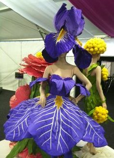 flower wearable art - Google Search