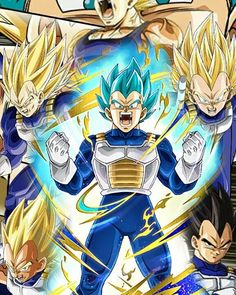 Evolution of the Prince of all Saiyans, Vegeta