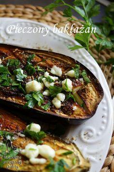 Kulinarne przygody Gatity: Pieczony bakłażan z zata'arem
