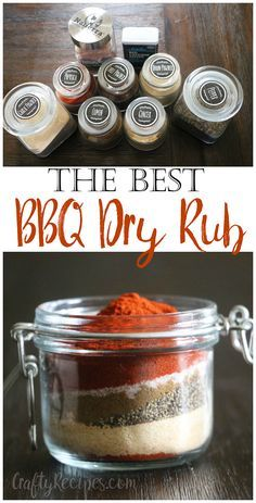 This really is the best BBQ dry rub recipe to put on ribs, chicken, pork, or beef! Great for grilling