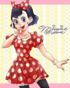 Minnie Mouse ~ Humanized
