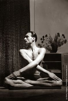 vintage everyday: Vintage Yoga Pictures