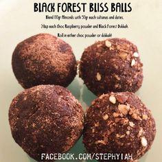Black Forest dukkah bliss balls www.facebook.com/JessicaWestYIAH