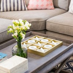 Coffee Table Styling Desert Willow Project by Lexi Westergard Design