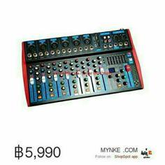 ขาย Proeuro Tech I-802DSP Usb SDCARD มิกเซอร์8ช่อง เครื่องผสมสัญญาณเสียง - สีเทา PROEURO TECHI-802dsp US ในราคา ฿5,990 ซื้อได้ที่ Shopee ตอนนี้เลย!https://shopee.co.th/mynke.com/9138234  #ShopeeTH