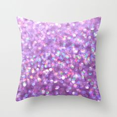 La La Lavender Throw Pillow Cover - by Lisa Argyropoulos (pillow insert available for purchase with cover)