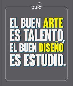 #Arte #diseño #frase
