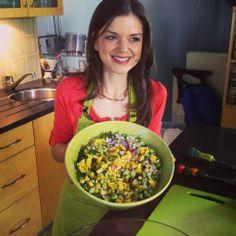 Mango Salsa Online Cookbook, Healthy Food, Healthy Recipes, Mango Salsa, Serving Bowls, Angels, Appetizers, Vegan, Tableware