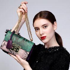 Zooler 정품 가죽 가방 2016 새로운 여성 메신저 가방 작은 크로스 바디 체인 어깨 가방 색상 무료 배송 #1911