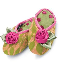 girls wild rose slippers, chasing fireflies. I want these for myself.