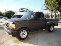Old Trucks, Pickup Trucks, Ford Lighting, 1995 Ford F150, Ford Obs, Sport Truck, Chevrolet Ss, Ford F Series, Green Dragon