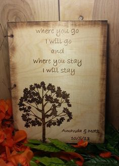 Rustic Wedding Guest Book or Words of Wisdom Book by WildFireFlies, $55.00