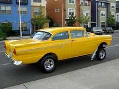 1957 Ford Gasser Only gets pinned because its a gasser, I got zero love for Forgotten On RaceDay