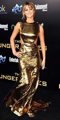 Jennifer Lawrence in Prabal Gurung