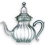 Oh my! From Mariage Freres some of the most glorious glass teapots I have ever seen. I would feel like Marie Antoinette herself sipping tea after pouring it from one of these lovelies.