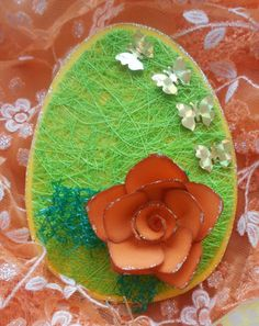 Handmade Easter card with tutorial