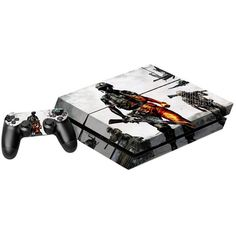 Battleground Soldier Style Game Console and Handle Protection Stickers Skin Decal for PS4