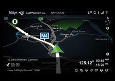 Aston Martin One-77 Infotainment System on Behance