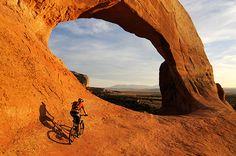 Adventure 101: Mountain Biking in Moab Moab Mountain Biking, Mountain Bicycle, Moab Desert, Cross Country Bike, Mtb Trails, Buy Bike, Bike Seat, Bike Accessories, Bike Life