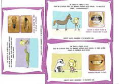 onomatopeies d'animals Oral Motor, Therapy Activities, Speech Therapy, Comics, Animals, Speech Language Therapy, Gross Motor, School Supplies, Kids