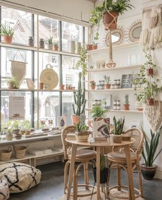 a beautiful independent store in Lewes, UK, selling homewares, furniture, plants and lifestyle products. As featured in 91 Magazine's Seek Inspire Create e-zine – Nov 2018 edition. Cafe Shop Design, Coffee Shop Interior Design, Restaurant Interior Design, House Design, Design Design, Boutique Interior, Merci Store, Flower Shop Decor, Shop Interiors
