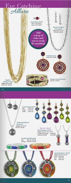 #eye catching #allure - guess which are my #favorite pieces? #azuliskye #fashion #jewelry Shop Anytime http://www.azuliskye.com/chinglo