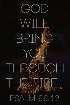 God will bring you through