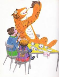 Judith Kerr.  The Tiger Who Came to Tea