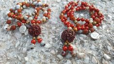 """Today's Message: """"Experience joy in everything your do."""" 📿Crazy Lace Agate and Red Coral -Matching Malas 📿 . 👉🏼Visit my e-shop for more details. Find link in bio. Couple Necklaces, Spiritual Jewelry, Crazy Lace Agate, Agate Beads, Summer Jewelry, Red Coral, Bohemian Jewelry, Ornament Wreath, Couples"""