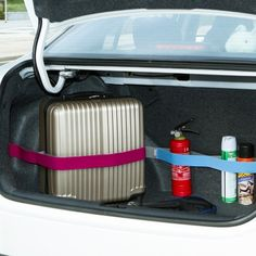 20cm Elastic Car-styling Car Trunk Organizer Stowing Tidying Velcro Strap Fixed Sundry Automobiles Interior Accessories Supplies