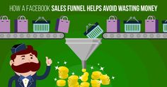 """""""How a 'Facebook Sales Funnel' Helps Avoid Wasting Money"""""""