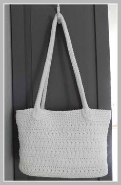 Little Sweet Things - Crochet bag Crochet Market Bag, Crochet Tote, Crochet Handbags, Crochet Purses, Crochet Yarn, Crochet Double, All Free Crochet, Diy Bags Purses, Diy Purse