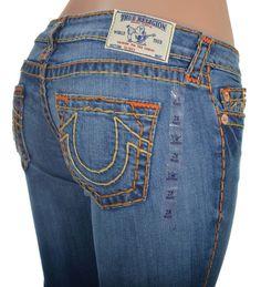 True Religion Womens Skinny Super T Jeans Size 28 in Dragon Killer NWT $319 #TrueReligion #SlimSkinny