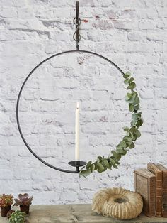 Hanging Wrought Iron Candle Holder - XL                                                                                                                                                                                 More
