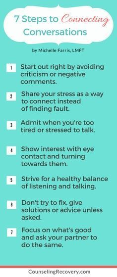 Tips for Having Connecting Conversations — Counseling Recovery, Michelle Farris, LMFT Learn how to increase intimacy. Healthy Relationship Tips, Relationship Challenge, Relationship Problems, Relationship Advice, Relationship Questions, Relationship Building, Communication Relationship, Toxic Relationships, Communication Skills
