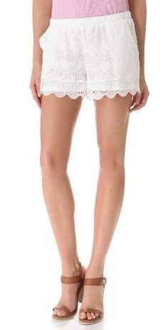 Ella Moss Celeste Lace Shorts | SHOPBOP
