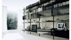 Zenit Storage Shelving System by Rimadesio  Available at Haute Living