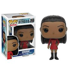 This is the Star Trek Beyond POP Uhura Uniform Vinyl Figure. It's produced by the cool people over at Funko. With the new movie coming out, fans of Star Trek an