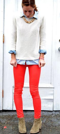 poppy Madewell jeans