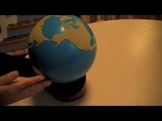 How to present the Sandpaper Globe