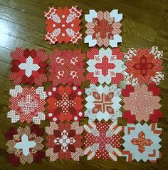all the lucy blocks so far by Littlelixie, via Flickr