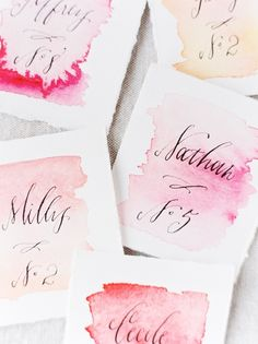 We Heart Whimsical Watercolor Details