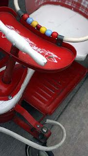 Ooh. . . delicious vintage baby walker